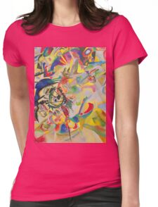 Wassily Kandinsky - Composition 7 1913  Womens Fitted T-Shirt