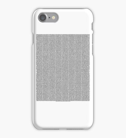 Bee Movie Script (Updated: Check Description For Details) iPhone Case/Skin