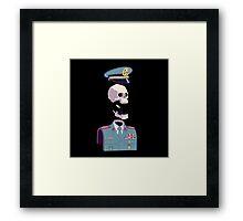 captain skull Framed Print