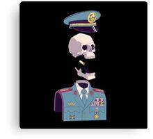 captain skull Canvas Print