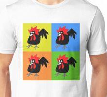 Funky and Cute Chicken Pop Art Unisex T-Shirt