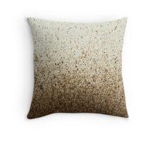 Dirt Grub Throw Pillow