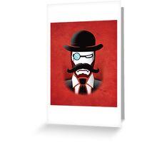 Iron Gentleman Greeting Card