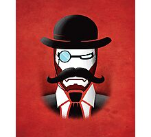Iron Gentleman Photographic Print