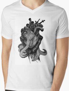 Octoheart Mens V-Neck T-Shirt