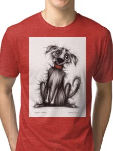 Fuzzy pooch Tri-blend T-Shirt
