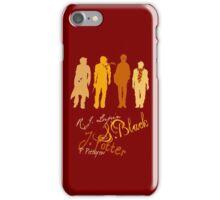 Four Marauding Marauders iPhone Case/Skin