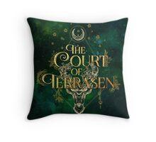 The Court of Terrasen Throw Pillow