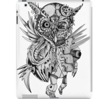 Steampunk Owl iPad Case/Skin