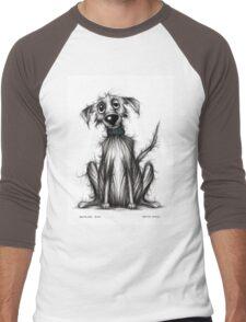 Homeless dog Men's Baseball ¾ T-Shirt