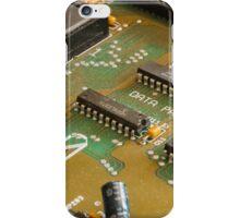 Retro Tech Circuit Board iPhone Case/Skin
