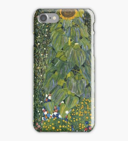 Gustav Klimt - The Sunflower 1907 iPhone Case/Skin