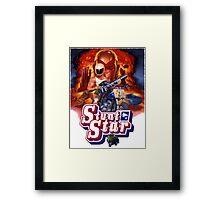 Stunt Star. Tombstone 2000 Framed Print
