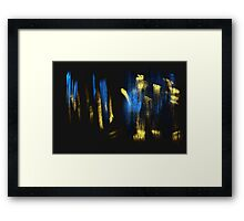 Gold Touch Framed Print