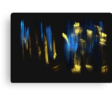 Gold Touch Canvas Print