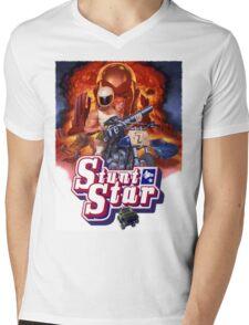 Stunt Star. Tombstone 2000 Mens V-Neck T-Shirt