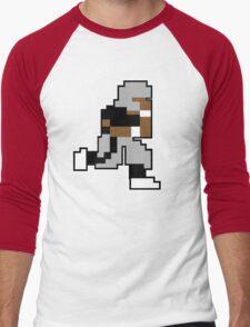Nintendo Tecmo Bowl Oakland Raiders Bo Jackson Men's Baseball ¾ T-Shirt