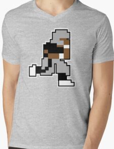 Nintendo Tecmo Bowl Oakland Raiders Bo Jackson Mens V-Neck T-Shirt