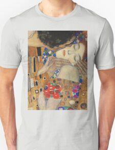 Gustav Klimt - The Kiss, 1907-08 Detal 4 Unisex T-Shirt