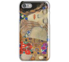 Gustav Klimt - The Kiss, 1907-08 Detal 4 iPhone Case/Skin