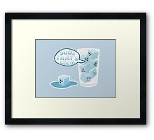 Ice Cold Framed Print