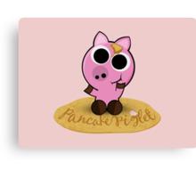 Pancake Piglet Canvas Print