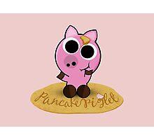 Pancake Piglet Photographic Print