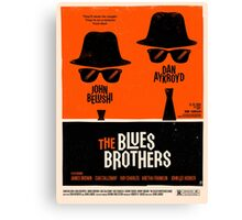 the music brothers Canvas Print