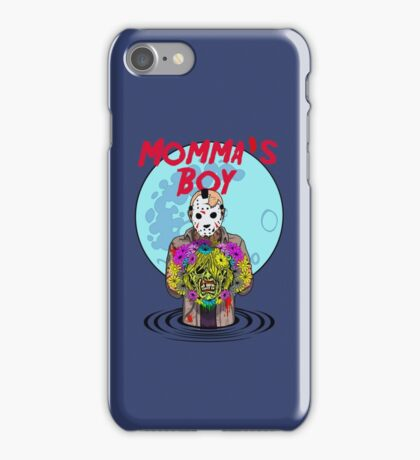 Momma's Boy iPhone Case/Skin
