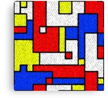 Bright Bricks Canvas Print