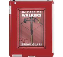 In Case Of Walkers iPad Case/Skin