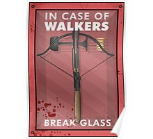 In Case Of Walkers Poster