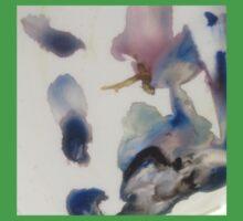 Watercolour palette mix by Liz H Lovell One Piece - Short Sleeve