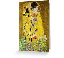 The Kiss - Gustav Klimt Greeting Card