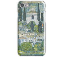 Gustav Klimt - Church In Cassone, 1913 iPhone Case/Skin