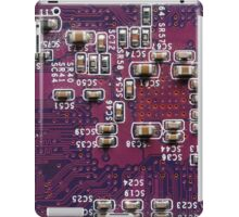 Pink Circuits  iPad Case/Skin