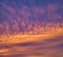 Sunset over Georgia by Scott Mitchell