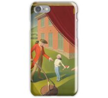 Grant Wood - Portraits of George and Martha Washington iPhone Case/Skin