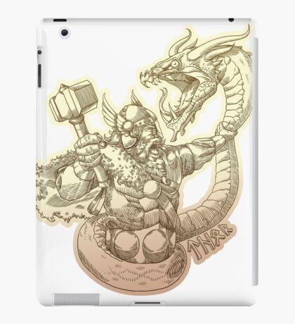 Norse god Thor iPad Case/Skin