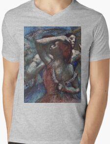 Edgar Degas - Dancers Mens V-Neck T-Shirt