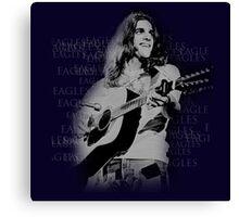 guitar player Canvas Print