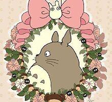 Cute Totoro by SonOfaColibri