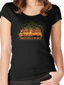 The Lost Boys - Santa Carla Women's Fitted Scoop T-Shirt