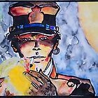 Corto Maltese with a cigar by Kissart