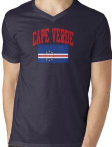 Cape Verde Flag t-shirt Mens V-Neck T-Shirt