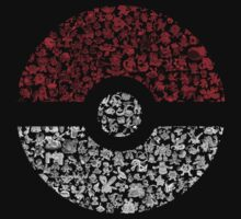 Pokéball Pokémon by The-sign