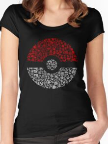 Pokéball Pokémon Women's Fitted Scoop T-Shirt