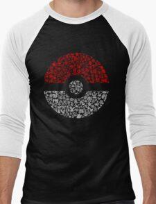 Pokéball Pokémon Men's Baseball ¾ T-Shirt