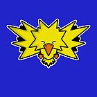 Super Cute Legendary Bird - Team Yellow by perdita00
