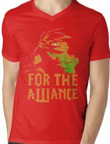 For the Alliance Mens V-Neck T-Shirt